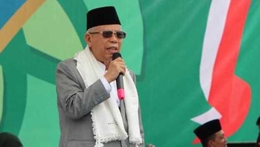 Dapat Dukungan Gubernur Riau, KH Ma'ruf Amin Makin Optimistis