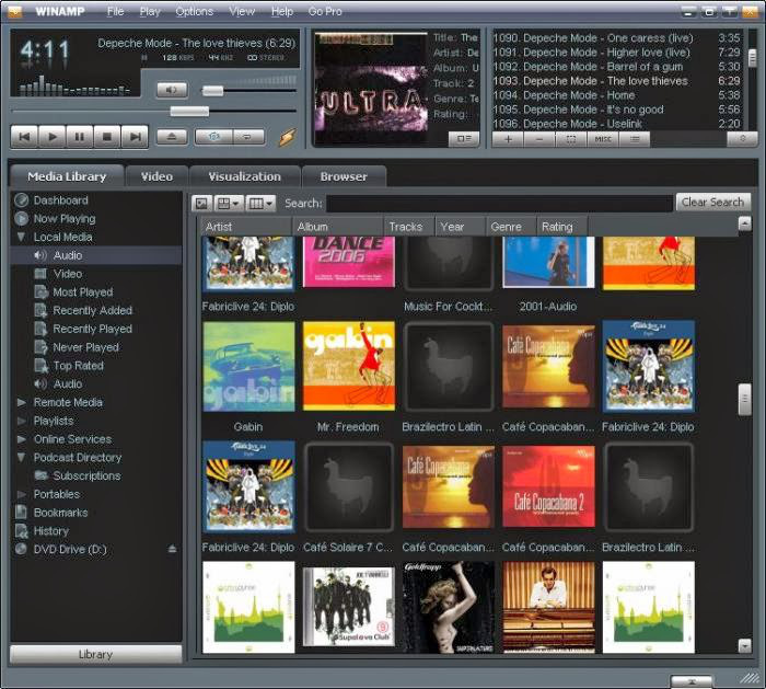 Cracks Full: Winamp PRO Key Crack Full Latest Version Free Download