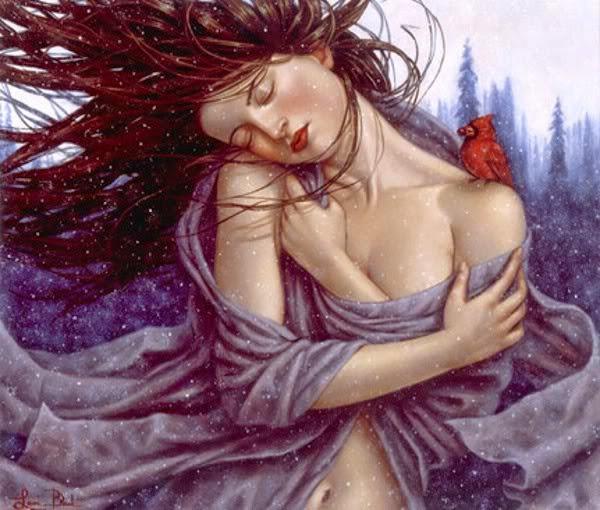Inverno - Lauri Blank e suas pinturas cheias de emoções