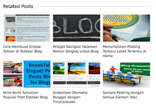 Related Post plus Gambar Thumbnail Responsive