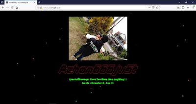 Hacker dengan kodenama Achon666ju5t Retas Halaman Depan Website UIN Bandung
