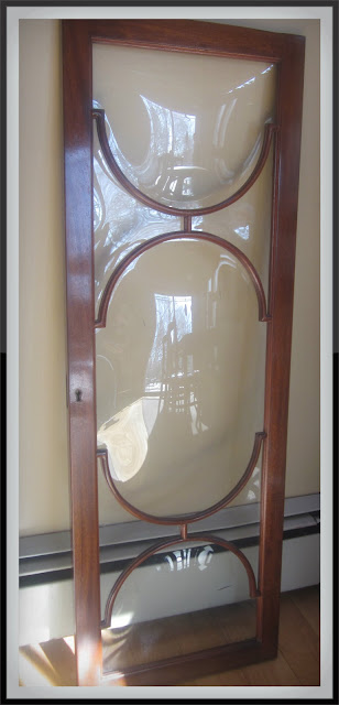 Upcycling a China Cabinet Door