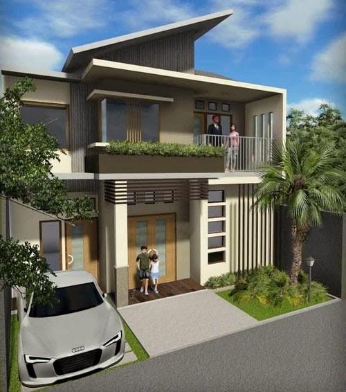 model rumah tingkat minimalis 5