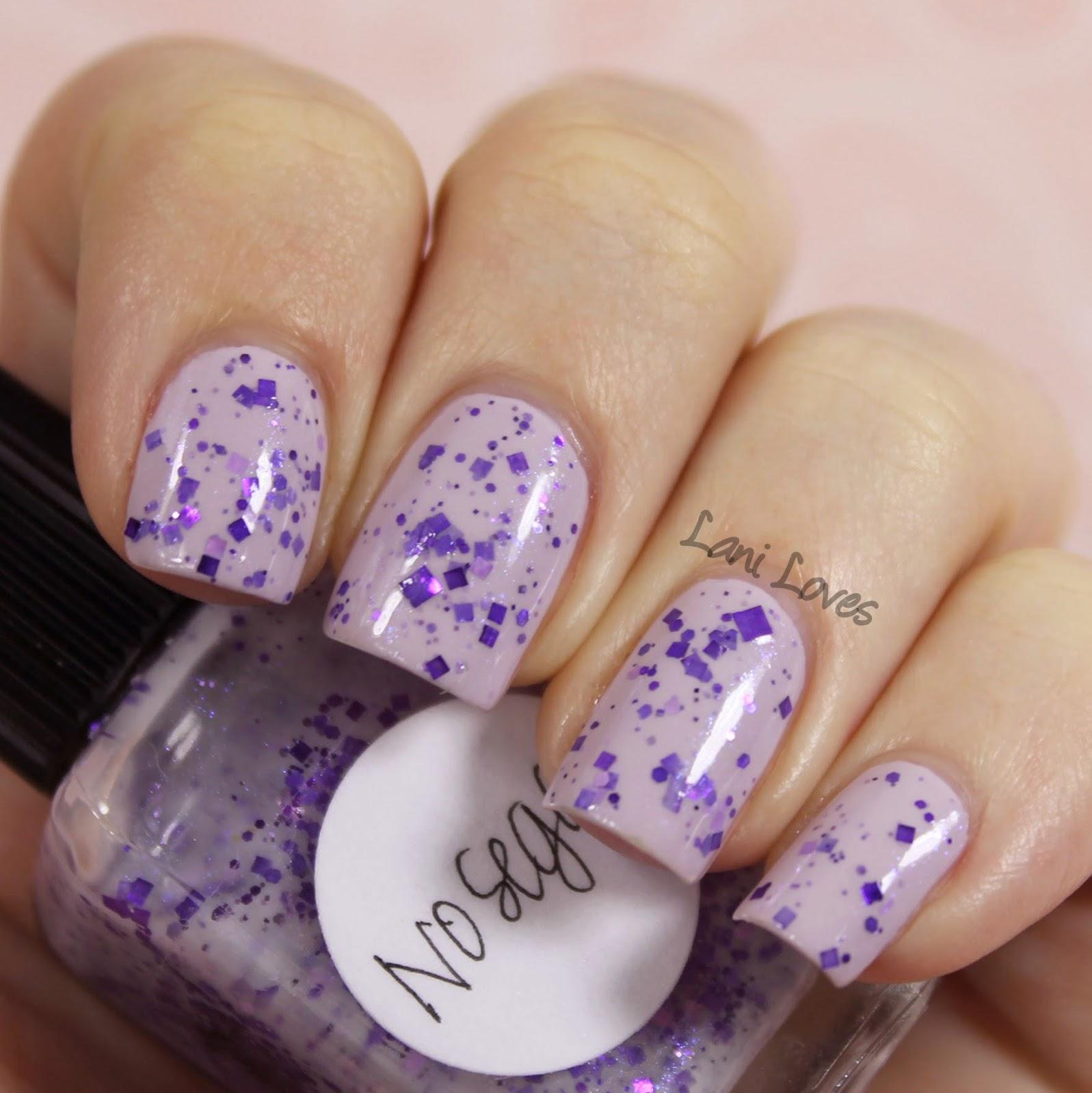 Lynnderella Nosegay nail polish swatch