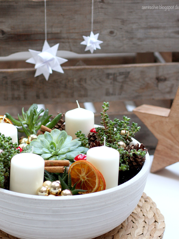 aentschies Blog: DIY - Der Adventskranz mal anders