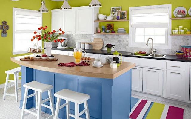 dapur terlihat cantik
