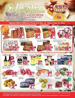 Bestco Food Mart Flyer September 15 - 21, 2017