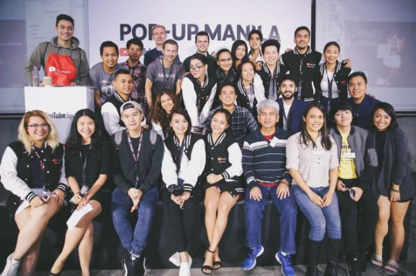 Content creators gather for second YouTube Pop-up Space Manila