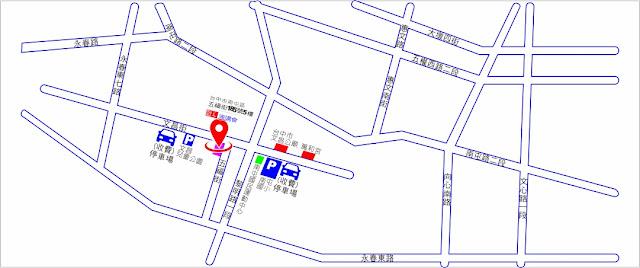 國美雙語國際演講會 停車場位置圖