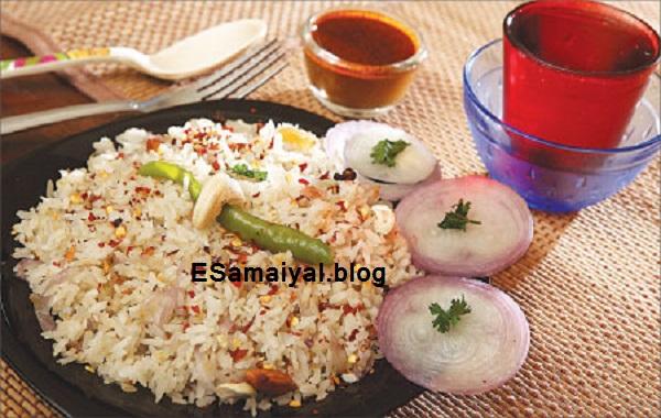 அவல் பிரியாணி செய்முறை | Aval Briyani Recipe !