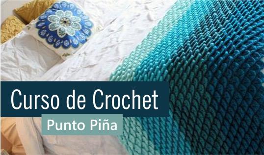 Curso de Crochet: Punto Piña, Bodoque o Garbanzo
