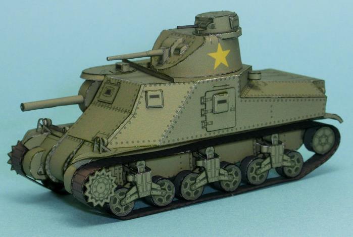 Craft Pattern World War  Tank