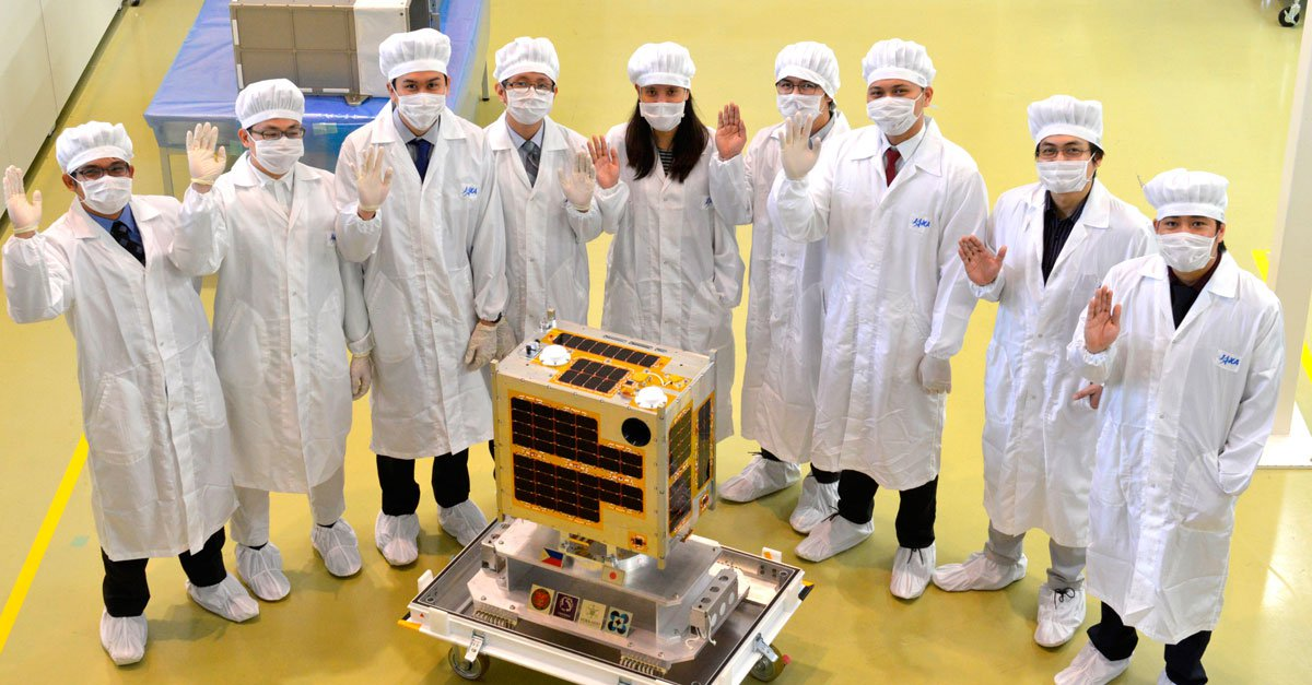 DOST scholars, UP students lead creation of first Philippine microsatellite 'Diwata'
