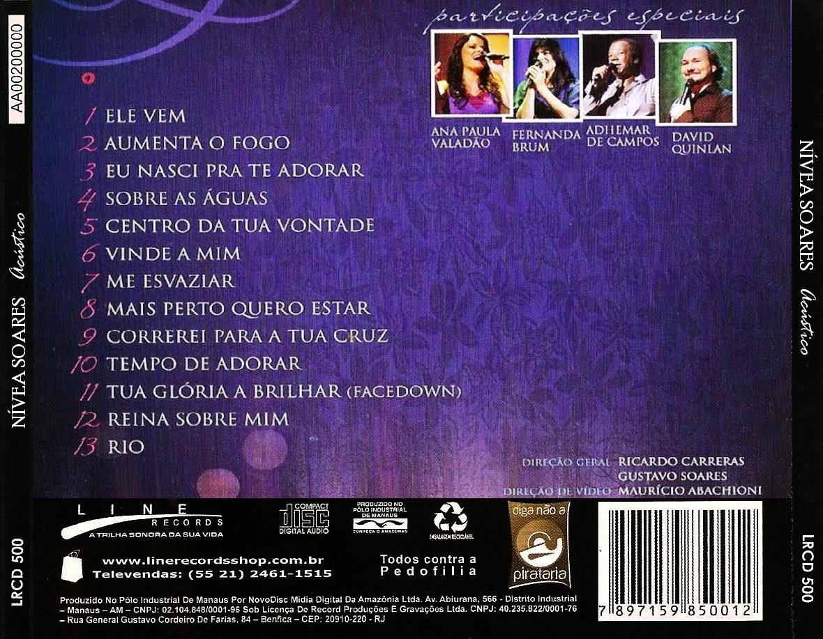 ACUSTICO SOARES DVD BAIXAR NIVEA