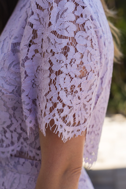 ASOS Lace Crop Top Dress
