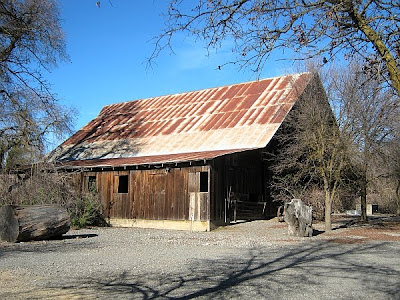Historic Redwood Barn at Cache Creek Nature Preserve