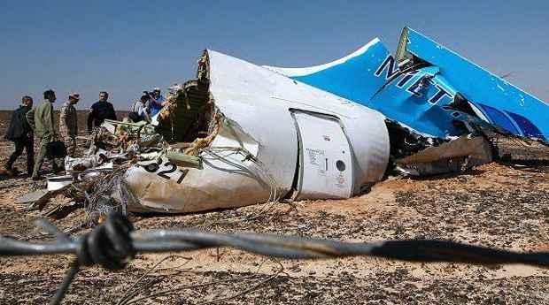 ازمة الطائرة الروسية