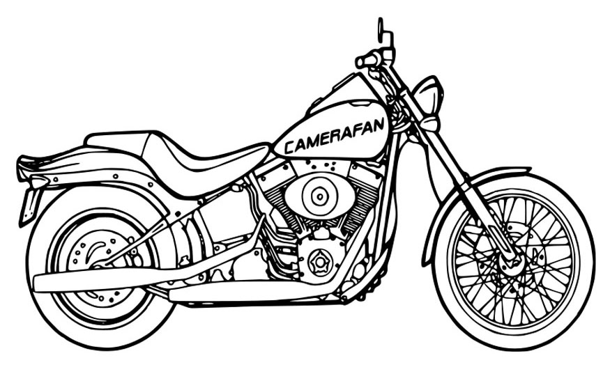 Motorcycle coloring pages coloring pages for Motorbike coloring pages