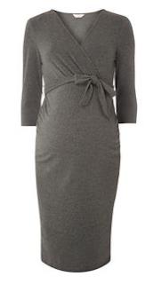 wrap maternity dresses