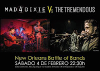 Mad4Dixie vs The Tremendous en Clamores Jazz