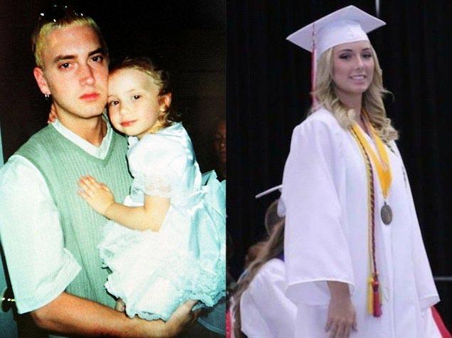 Eminem's daughter Hailie is all grownup