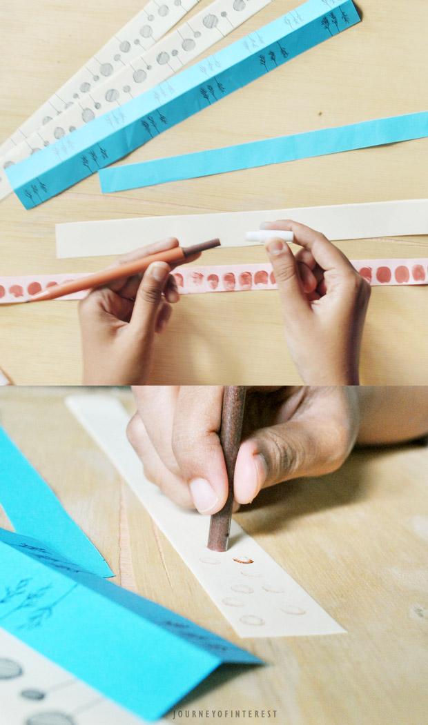 make ribbon draw