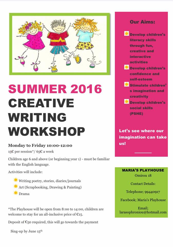 summer course creative writing Best part time summer courses in creative writing 2018 overview of course session 1: july 23rd 2017 – august 5th 2017 session 2: august 6th 2017.