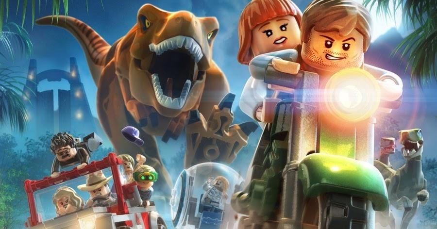 لعبة lego jurassic world مجانا للاندرويد