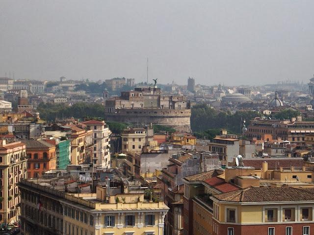 Tejados de Roma. Diario de viaje