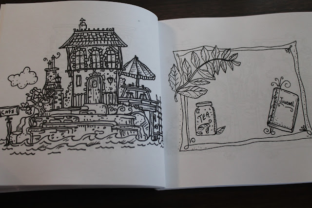 The Thinking Tree Cafe Coloring Book