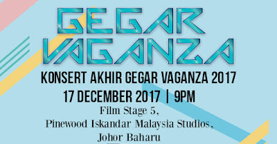 Harga dan Cara Beli Tiket Online Konsert Akhir Gegar Vaganza 2017