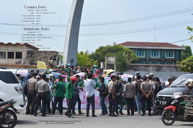 Aksi Demo Mahasiswa