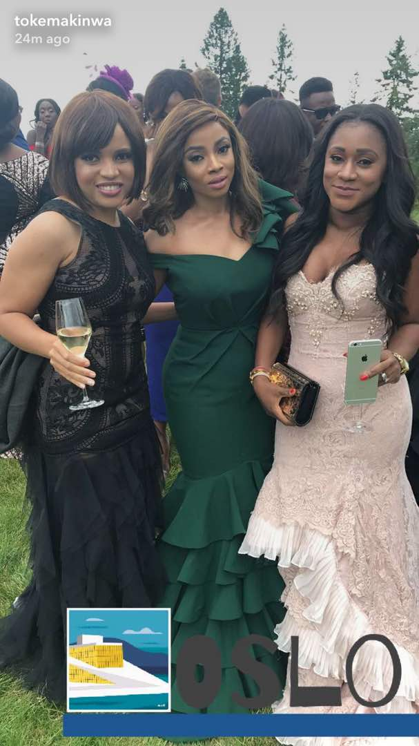 Toke-Makinwa-Busayo-Makinwa-Stian-Fossengen-white-wedding-Oslo-Norway-3