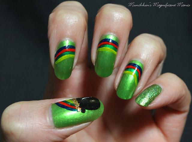St. Patrick's Day Nail Design