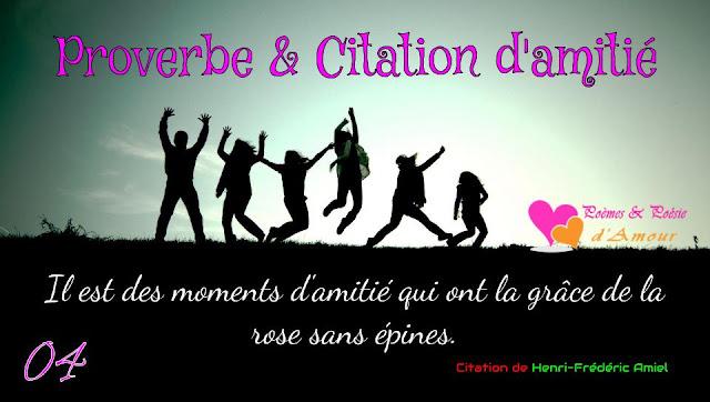 Henri-Frédéric Amiel : Il est des moments d'amitié qui ont la grâce de la rose sans épines.