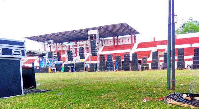 Lomba Sound System di Stadion Minak Sopal Trenggalek