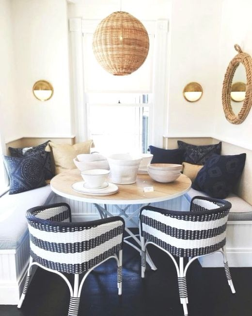 Modern Nautical Dining Room Design Idea