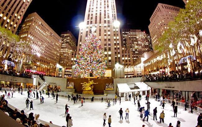 The Rink at Rockefeller Center, New York City