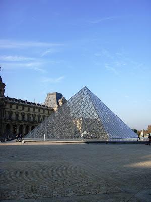 Wochenende in Paris . der Louvre