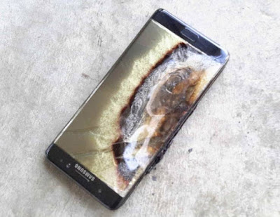 Samsung Galaxy Note 7 Banned From All Airlines in The U.S