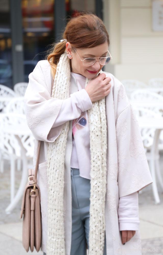 Culotte im Winter kombinieren,Wie trage ich einen Kimono