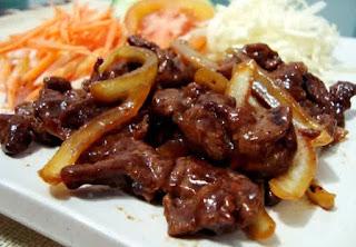 Resep Teriyaki Daging Sapi Jepang Ala Hokben