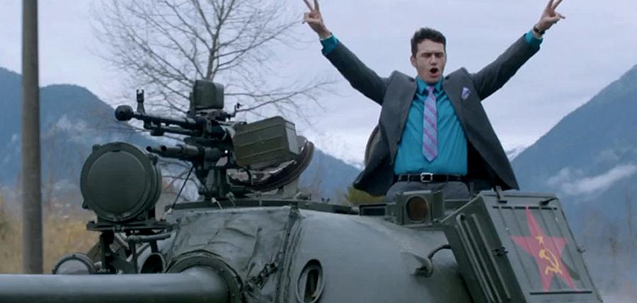 Allentto.com - Totul Despre FilmeleNoi - James Franco într-un tanc coreean în comedia The Interview