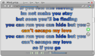 Kini Mudah Menyanyikan Lagu Yang Tak Berlirik Menjadi Berlirik Menggunakan Minilyric 7.6.48