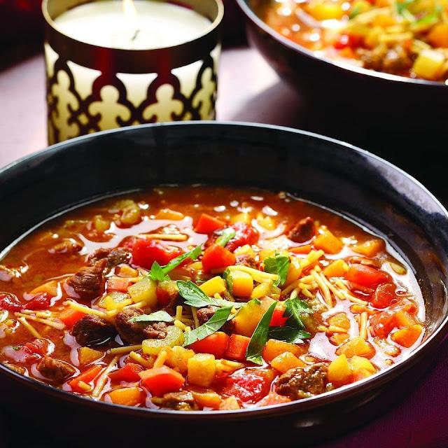 Moroccan Vegetable Soup (Chorba)