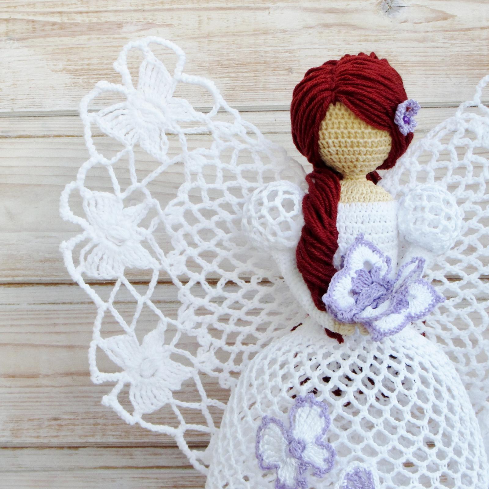 Aprende a tejer los ángeles más hermosos a crochet / DIY   Crochet y ...