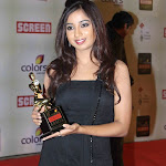 Shreya ghoshal at 18th Annual Colors Screen Awards