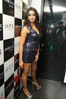 Sanjana looks happy in sparkling short Deep neck Purple Gown ~  Exclusive 22.JPG