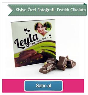 kişiye özel çikolatalar