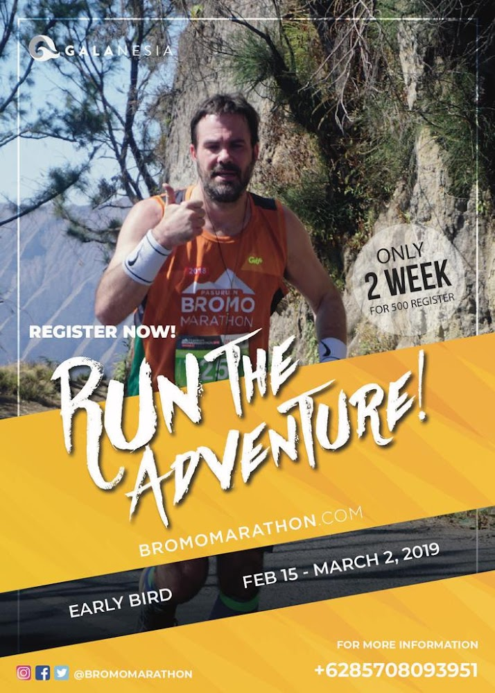Pasuruan Bromo Marathon • 2019